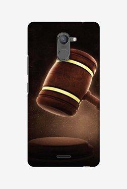 Amzer Lawyers 2 Hard Shell Designer Case For Infinix Hot 4 Pro
