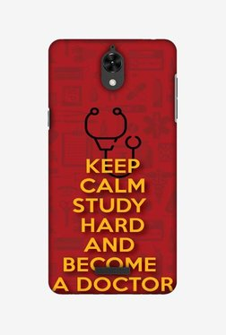 Amzer Doctors Quote Hard Shell Designer Case For Coolpad Mega 2.5D
