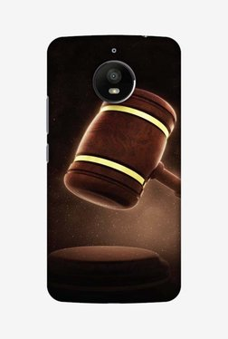 Amzer Lawyers 2 Hard Shell Designer Case For Moto E4 Plus