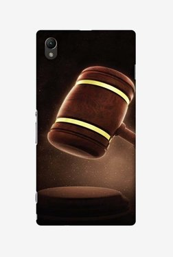 Amzer Lawyers 2 Hard Shell Designer Case For Sony Xperia Z1 L39h