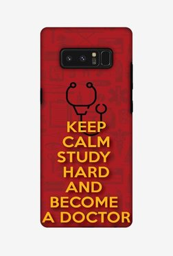 Amzer Doctors Quote Hybrid Dual Layer Hard Shell Designer Case For Samsung Note 8