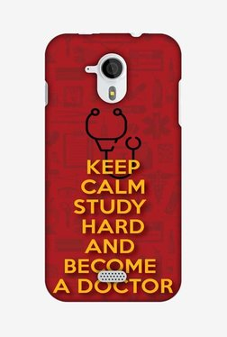 Amzer Doctors Quote Hard Shell Designer Case For Micromax Canvas HD