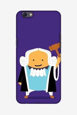 Amzer Lawyers 1 Hard Shell Designer Case For Oppo F3 Plus