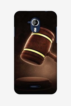 Amzer Lawyers 2 Hard Shell Designer Case For Micromax Canvas Magnus