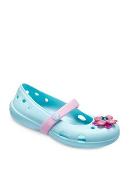 581621b2982fce Crocs Keeley Springtime Pink Mary Jane Belly Shoes for girls in ...