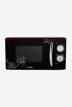 Haier HIL2001MFPH 20L Solo Microwave Oven (Black)