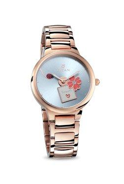 Titan 95081WM03 Valentine Daily Charm Analog Watch For Women