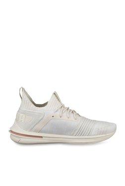 aef18e968fb Puma Ignite Limitless SR evoKNIT Whisper White Running Shoes
