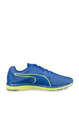 f9e0b89dc4e5fa Puma Speed 300 Ignite 3 Turkish Sea   Yellow Running Shoes