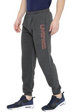 Neva Dark Grey Regular Fit Joggers