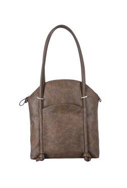 93fbf80e69470 Baggit Lina Dark Brown Distressed Shoulder Bag