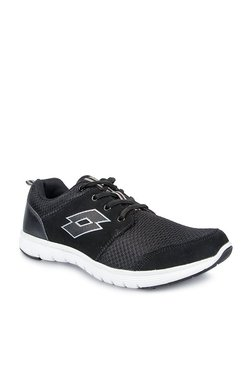 66ee23cb43 Lotto Easy Zest Black Running Shoes