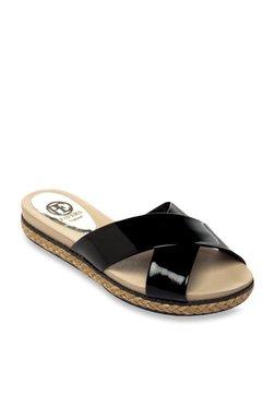 a45609a3ef3 Pavers England Black Espadrille Sandals