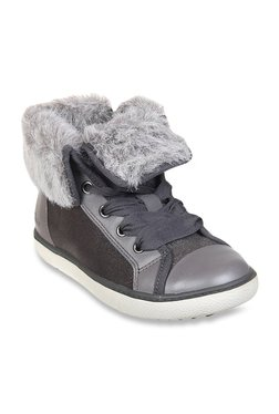 Kids Zora Dress Silver Snow Boots