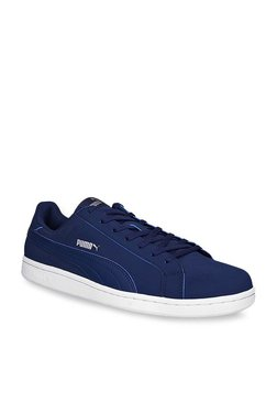 Puma Smash Buck IDP Navy & White Sneakers