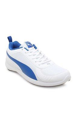 Puma Zenith IDP White & Blue Running Shoes