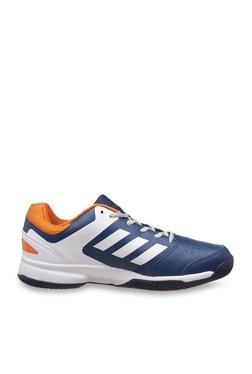Adidas Steadfast Tech Steel   White Tennis Shoes 1fda543f3