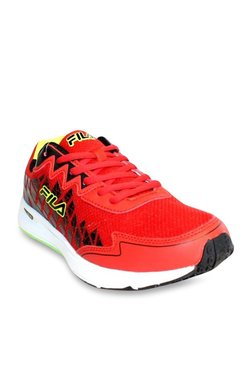 Fila Fusion Speed Red & Black Running Shoes