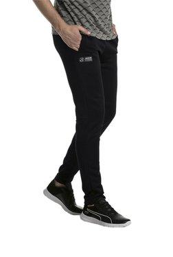 b09a0900bcd1 Puma Black Polyester Trackpants