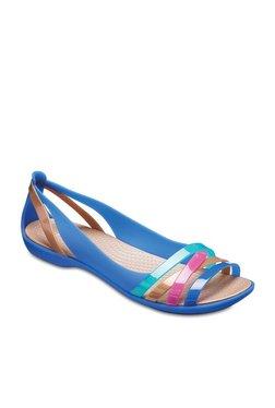 f07ec0be7747d Crocs Isabella 2 Blue Jean   Golden Casual Sandals