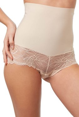 ETAM Paris Beige Rose High Waist Tummy Shaping Brief