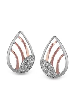 Orra Yashoda 950 Platinum 0 18 Ct Diamond Earrings