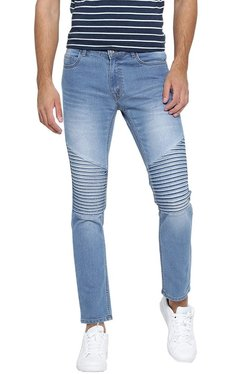 Hubberholme Light Blue Slim Fit Mid Rise Jeans