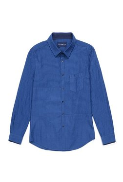 Gas Indigo Slim Fit Shirt SCOTTIE PATCH
