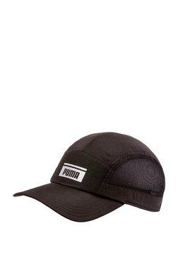 f010106e79e1 Puma Pace Black Solid Nylon Trucker Cap