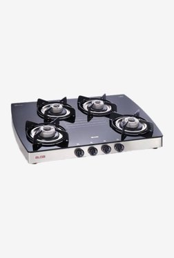 Glen Alda CTA 148 GT 4 Burner Automatic Gas Stove (Black)
