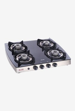 Glen Alda CTA 142 GT 4 Burner Gas Stove (Black)