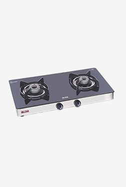 Glen Alda CTA 121 GT 2 Burner Automatic Gas Stove (Black)