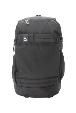 Puma Evo Blaze Black Solid Polyester Laptop Backpack - Mp000000002445134