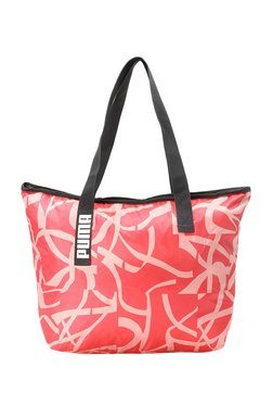 69ab600d05 Puma Core Active Paradise Pink   Peach Polyester Tote