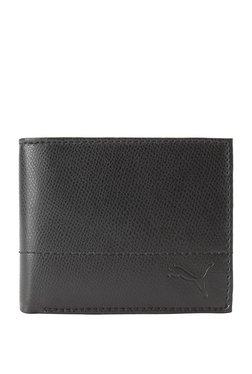 ec860594557 Puma Black Stitched Bi-Fold Wallet