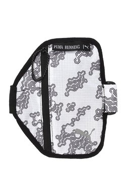 a2ea81998452 Puma PR Black   White Printed Polyester Arm Pouch