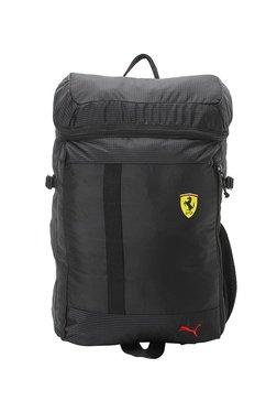 f31ed04799d9 Puma SF Fanwear Black Striped Polyester Laptop Backpack