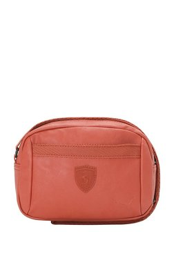 Puma SF LS Red Solid Sling Bag