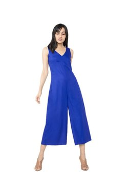 AND Royal Blue Sleeveless Jumpsuit