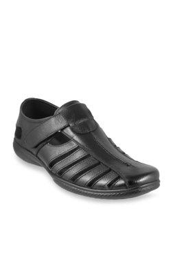 c6a08bfc1cac Mochi Black Fisherman Sandals