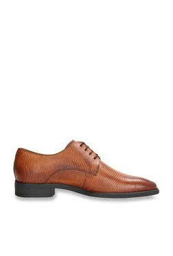Van Heusen Tan Derby Shoes 39c019a0e