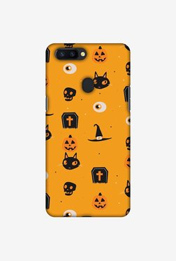 Amzer Spooky Collage Halloween Designer Case For Oppo R11s Plus