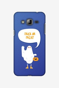 Amzer Trick Or Treat White Ghost Halloween Designer Case For Samsung Galaxy J2