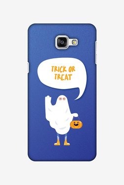 Amzer Trick Or Treat White Ghost Halloween Designer Case For Samsung Galaxy A9/A9 Pro