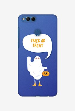 Amzer Trick Or Treat White Ghost Halloween Designer Case For Honor 7X