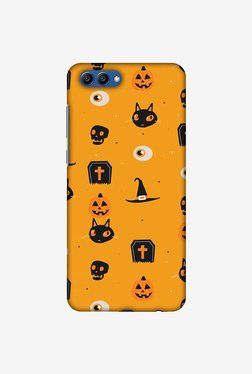 Amzer Spooky Collage Halloween Designer Case For Honor View 10