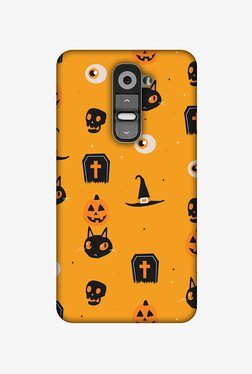 Amzer Spooky Collage Halloween Designer Case For LG G2