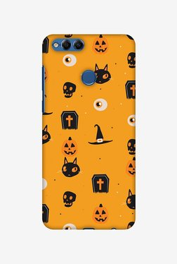 Amzer Spooky Collage Halloween Designer Case For Honor 7X