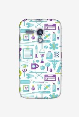 Amzer Doctor Pattern 1 Designer Case For Moto G