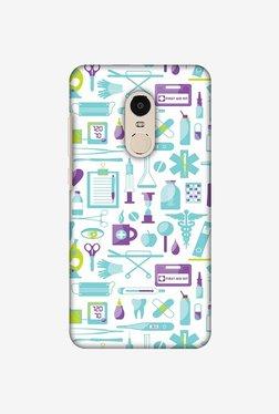 Amzer Doctor Pattern 1 Designer Case For Redmi Note 4